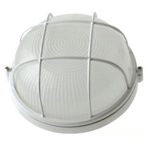 Светильник 60Вт круглый с решёткой