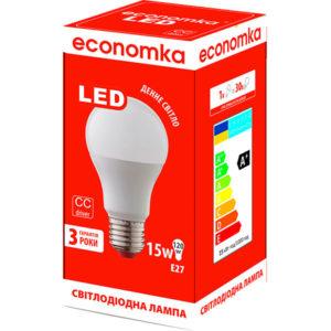 Лампа светодиодная Экономка LED А60 15W E27-42