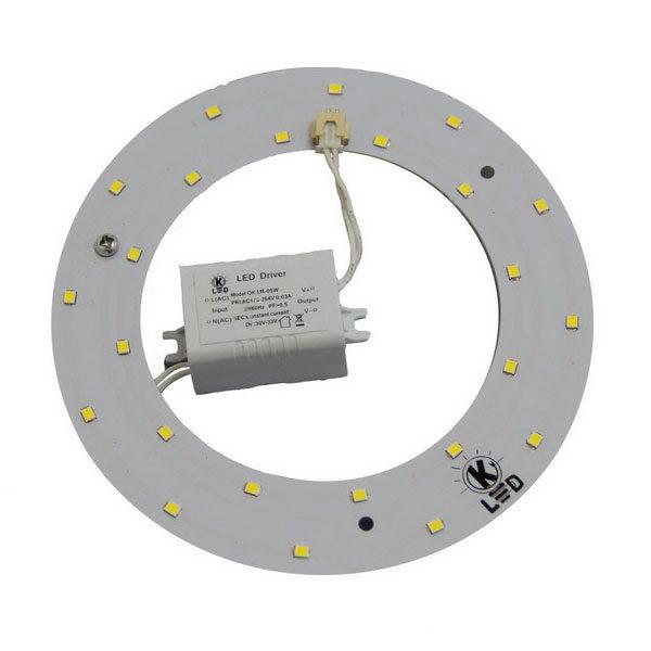 светодиодная плата 12Вт OK-HL-12-WW-302