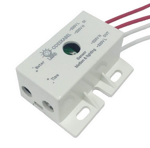 Motion and light sensor